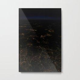 Overhead Metal Print