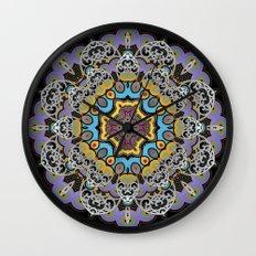 Soothing Mandala Wall Clock