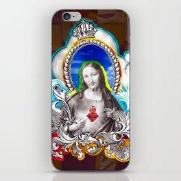 Sagrado Coração de Jesus (Sacred Heart) #1 iPhone Skin