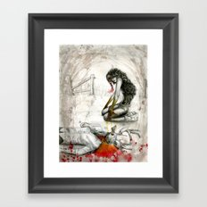 All Good Things To Those Who Wait Framed Art Print