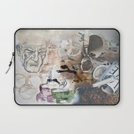 Becoming Human with First Cup Laptop Sleeve