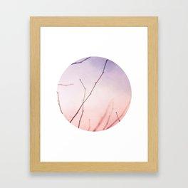Morning color Framed Art Print