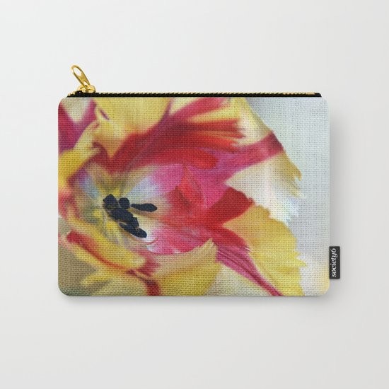 A tulip like a painter's palette Carry-All Pouch