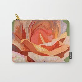 Color Study - Orange Rose Carry-All Pouch