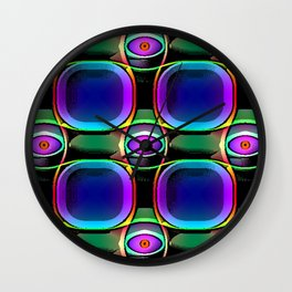Lazor eyes Wall Clock