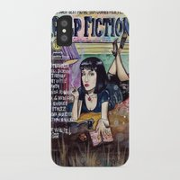 pulp fiction iPhone & iPod Cases featuring Pulp Fiction by Jessis Kunstpunkt.