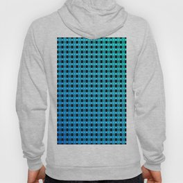 Small and little bluish pattern Hoody