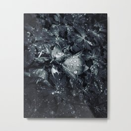 blue drop Metal Print