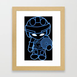 Mini Tron Framed Art Print