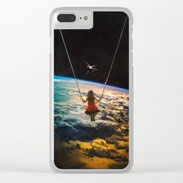 Being Lead Clear iPhone Case