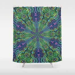 Googly wooven Shower Curtain