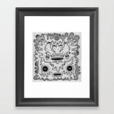square sausage Framed Art Print