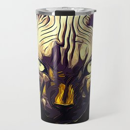 sphynx cat from hell vafn Travel Mug