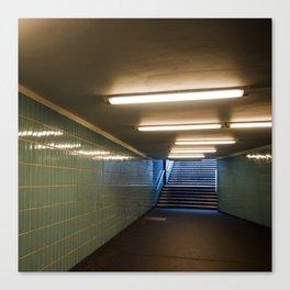 Tube Station - Fehrbelliner Platz - BERLIN UNDERGROUND Canvas Print