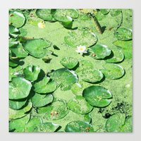 monet Canvas Prints featuring Almost Monet by BRITADESIGNS