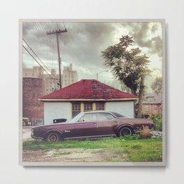 Oldsmobile Delmont 88 Metal Print