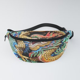 Chinese Dragon Art Mythical Fanny Pack