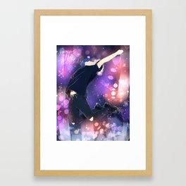 happy jm Framed Art Print