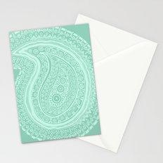 C13 paisley pattern Stationery Cards