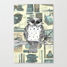 Dotty the Owl 3 Canvas Print