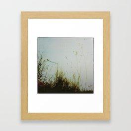 « les herbes folles » Framed Art Print