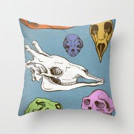 Skullz Throw Pillow