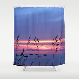 Simplicity by the Sea Shower Curtain
