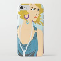 great gatsby iPhone & iPod Cases featuring Gatsby by David Sparvero