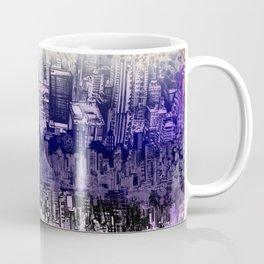 New York skyline drawing collage 2 Coffee Mug
