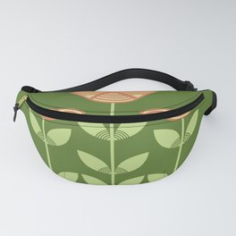 Three Japanese style flowers Fanny Pack