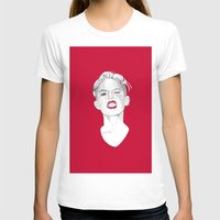 miley T-shirts featuring Miley by Fernando Monroy Robles
