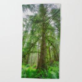 Ethereal Tree Beach Towel