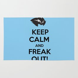 Keep Calm and Freak Out Rug
