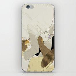 Gourdie and Pumpkin iPhone Skin