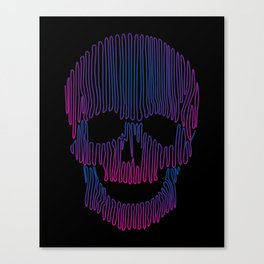 Skulledelic Canvas Print