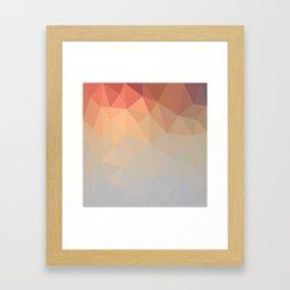 Retro Mesh Framed Art Print
