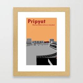 Pripyat City Square #2 Framed Art Print