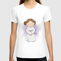 leia T-shirts featuring Leia by Lalu - Laura Vargas