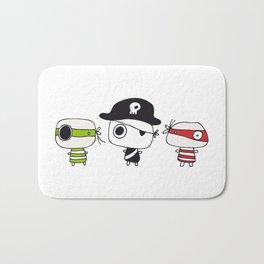 Three Pirates Bath Mat