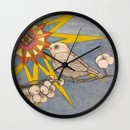 sunbird Wall Clock