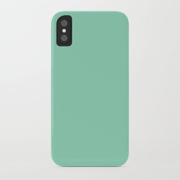 Mint Green iPhone Case