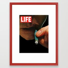 LIFE MAGAZINE: Marijuana Framed Art Print