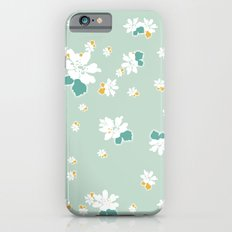 Ditsy - Eggshell iPhone 6 Slim Case