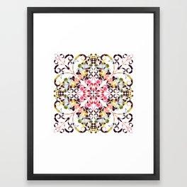 Flourish 50 Framed Art Print
