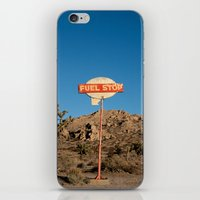 pocket fuel iPhone & iPod Skins featuring Fuel Stop by Shy Photog