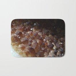 Citrine Crystal geode Bath Mat