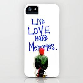Live Love Make Memories, G-Dragon... iPhone Case