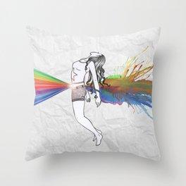 I Am Colour Throw Pillow