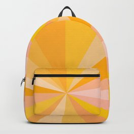 Abstraction_YELLOW_SUNLIGHT_Minimalism_001 Backpack