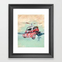 Isetta  all terrain vehicle Framed Art Print